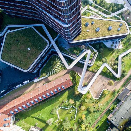 海绵城市绿色屋顶