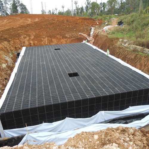 雨水收集施工现场4