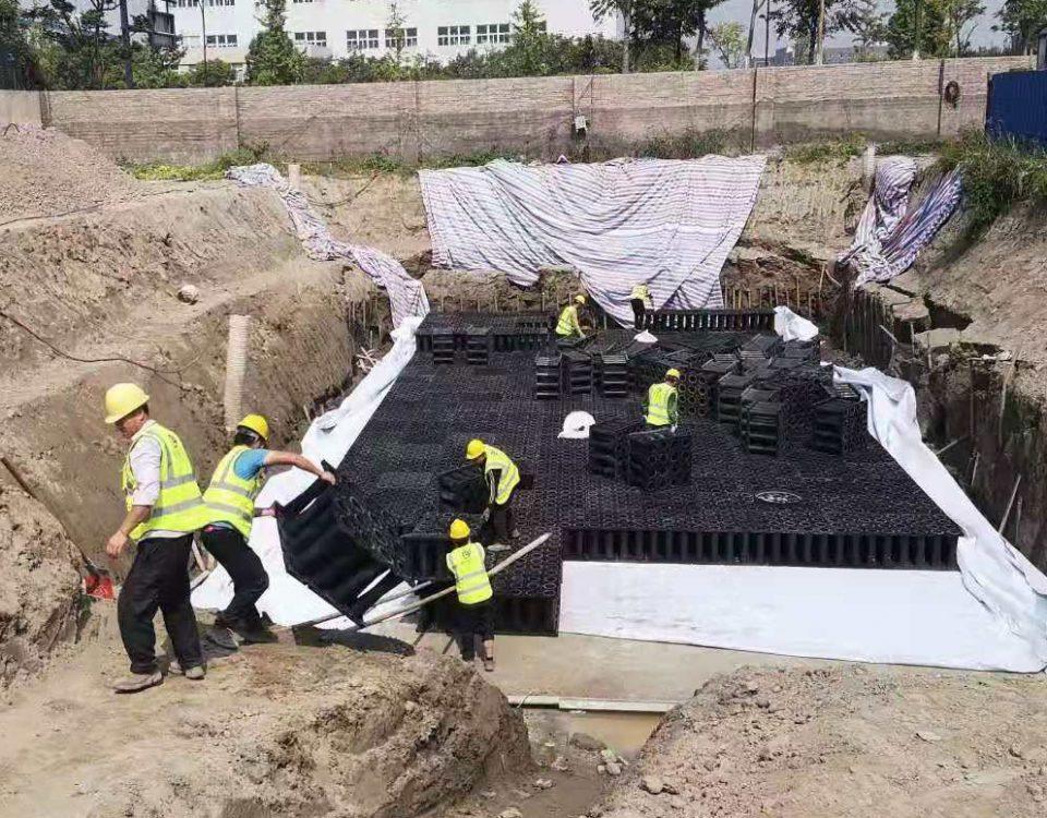 雨水回收系统施工
