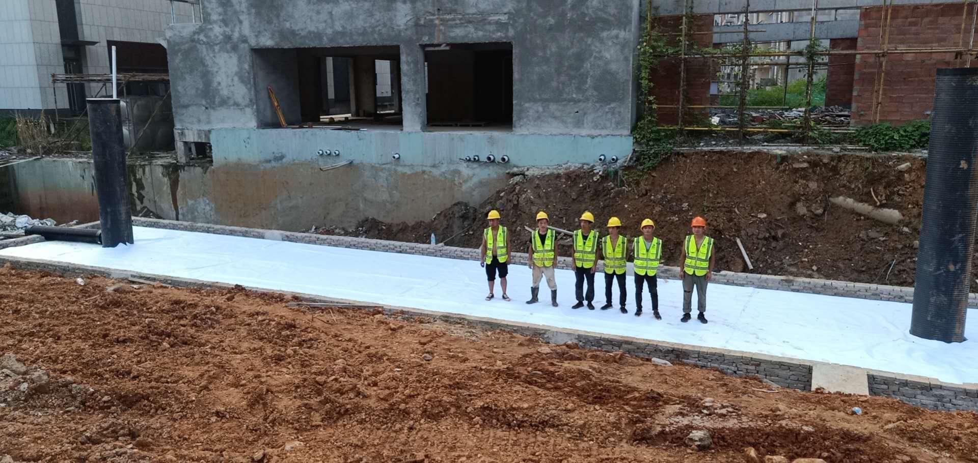 德励石设计并施工富政储出【2017】13号地块雨水收集回用项目3