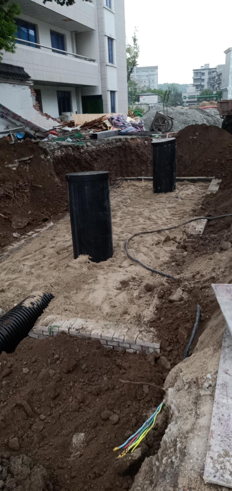 杭州临平一小(老校区)扩建及周边市政配套项目(一期)雨水收集系统1