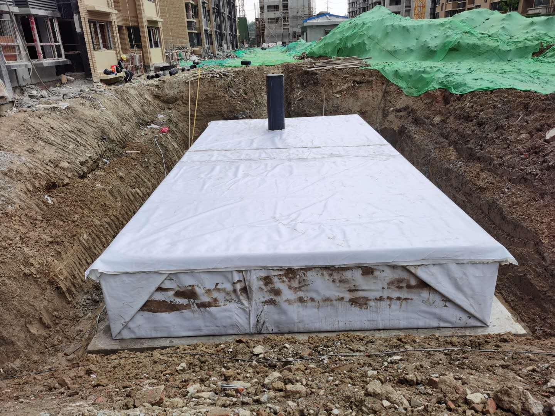 金凤梧桐华苑雨水收集回用系统签约并施工5