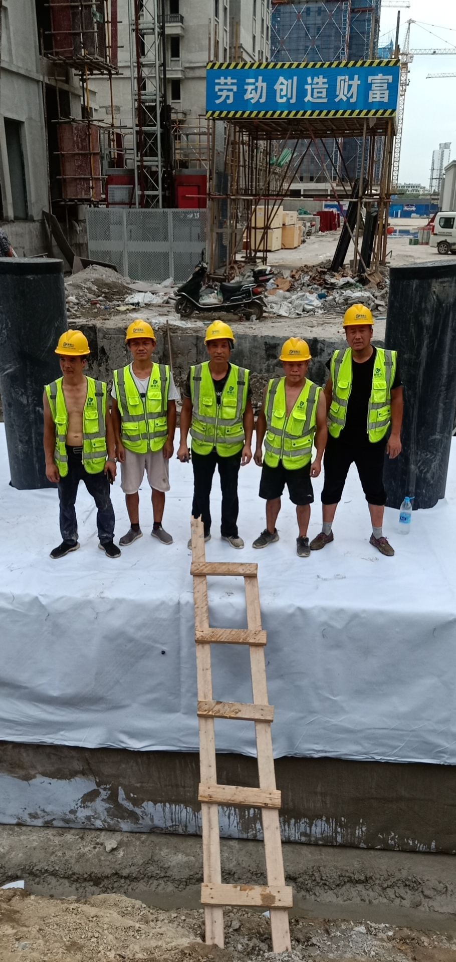 浙江德励石顺利签约并施工台州南官新天地2#地块雨水收集回用项目1