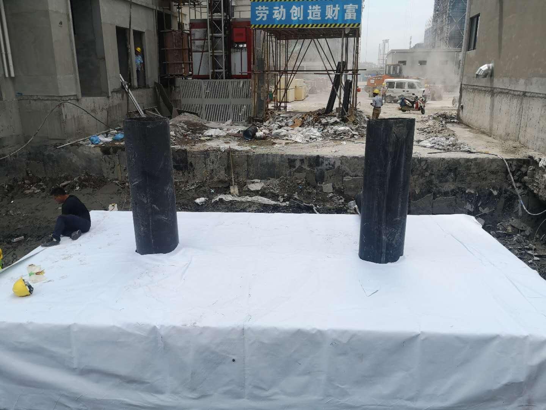 浙江德励石顺利签约并施工台州南官新天地2#地块雨水收集回用项目3
