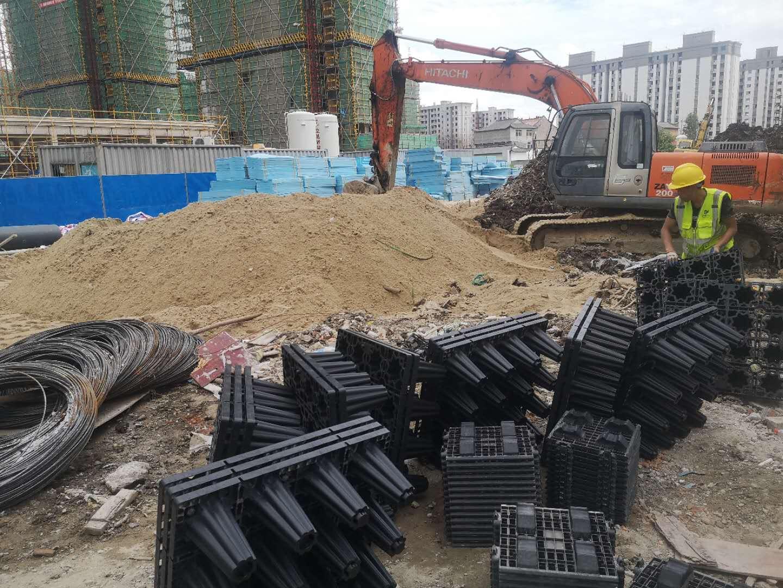 浙江德励石顺利签约并施工台州南官新天地2#地块雨水收集回用项目4