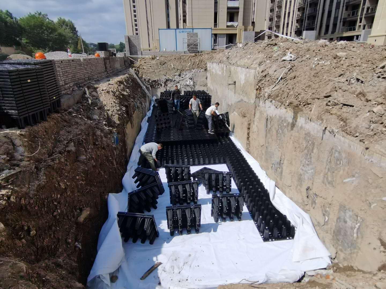 德清云山新语(云山花苑)市政设计工程雨水收集回用系统1