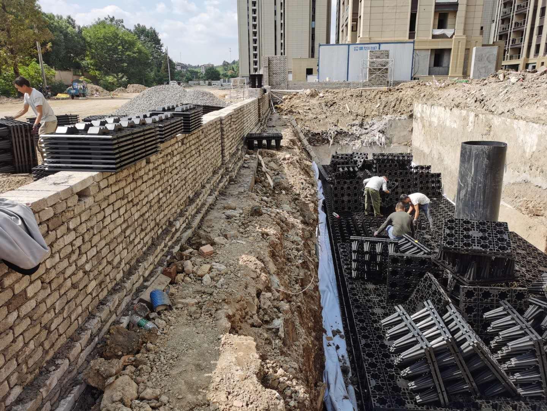 德清云山新语(云山花苑)市政设计工程雨水收集回用系统2