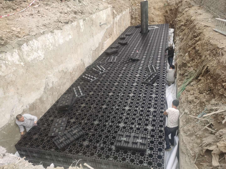 德清云山新语(云山花苑)市政设计工程雨水收集回用系统3