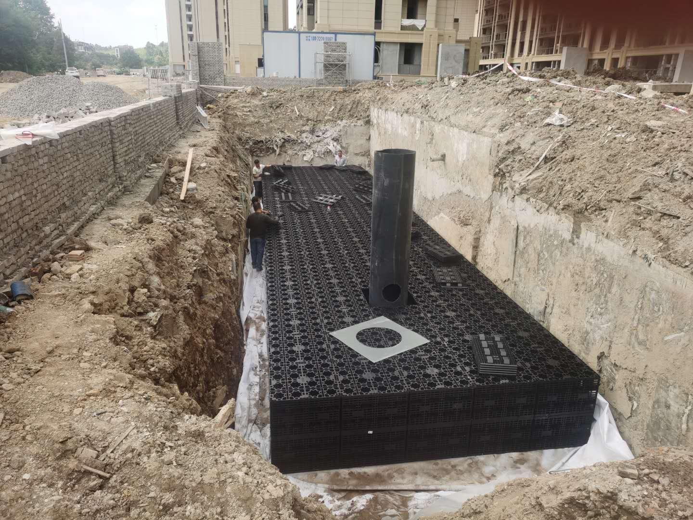 德清云山新语(云山花苑)市政设计工程雨水收集回用系统4