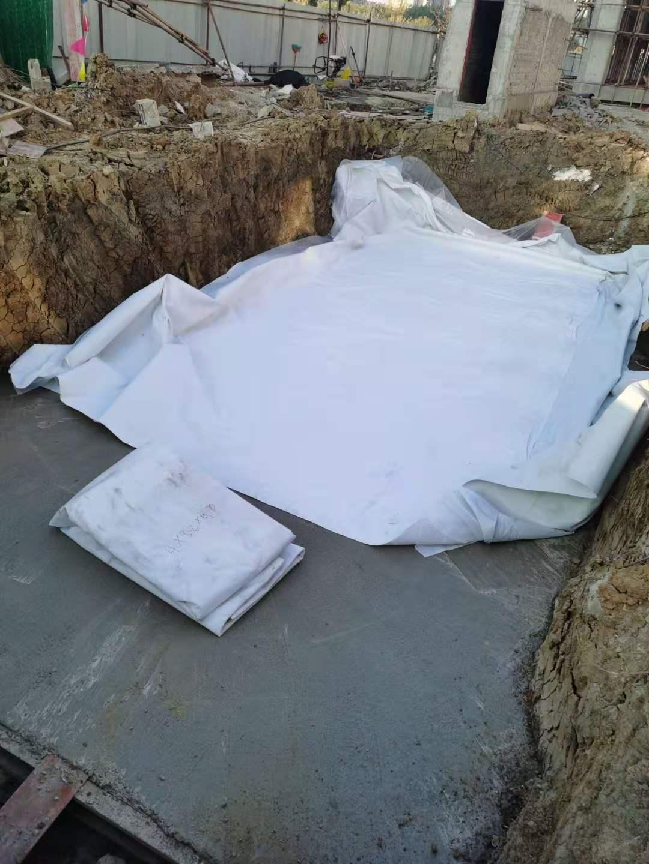 江苏淮安国联医疗卫生服务中心项目雨水收集回用系统施工1