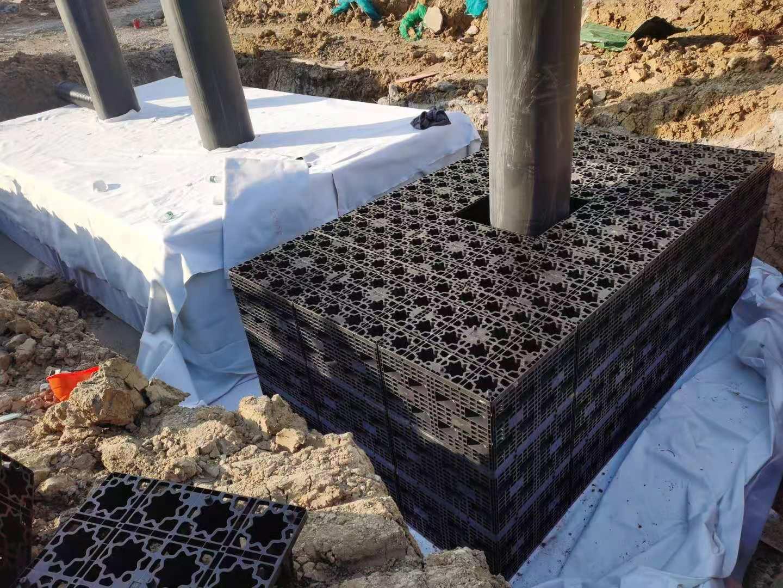 江苏淮安国联医疗卫生服务中心项目雨水收集回用系统施工5